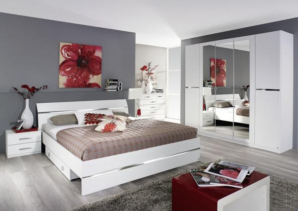 Complete bedroom Blanche 160